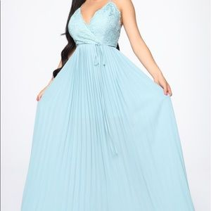 •NEW WITH TAGS• Light blue maxi dress